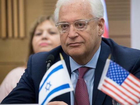 蓬佩奥刚到以色列就有不祥之兆,美国驻以大使患上呼吸道疾病
