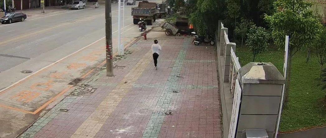 江西抚州的这位大姐 你别跑!