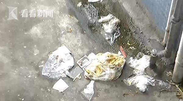 楼上住户每天高空扔垃圾长达两年 物业:没人承认