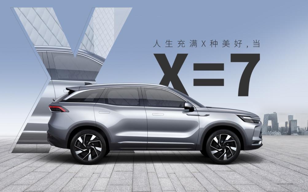 BEIJING汽车正式定名,全新车型X7预售价10-15万元