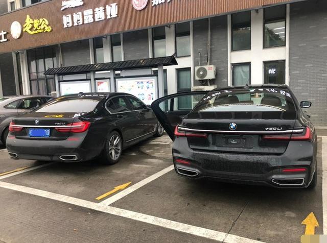 74万元买宝马730,高速服务区遇同款730,吃完饭后两人一道上路