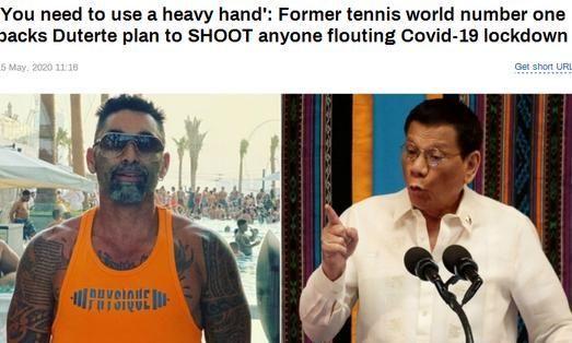 违反防疫规定就击毙!智利网球传奇力挺:必须要重拳出击