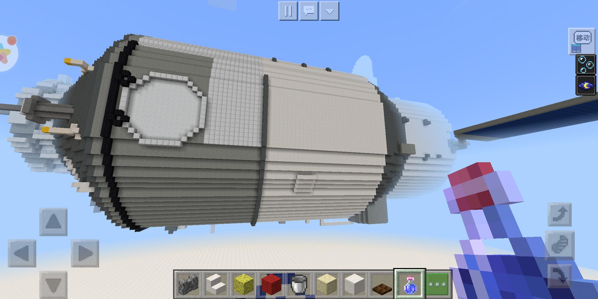 我的世界大神建造天宫二号,完美还原空间实验室,评分高达4.4