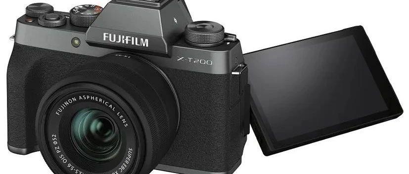 轻便易用又有复古范儿——富士X-T200无反数码相机