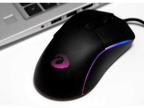 达尔优A960,65克超轻量化设计的电竞鼠标