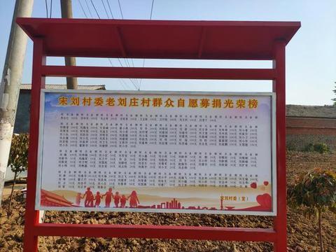 平舆县万金店镇宋刘村:培育文明乡风 助力乡村振兴
