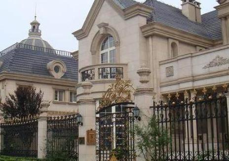 """那英豪宅装修,独栋豪华大别墅,外墙有浮雕,就是""""番外""""宫殿"""
