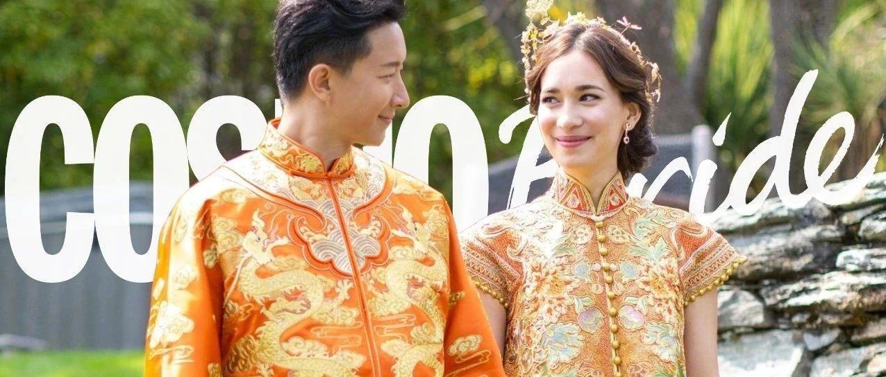 徐若瑄陈妍希唐艺昕卢靖珊都爱的中式嫁衣,你怎么舍得错过!