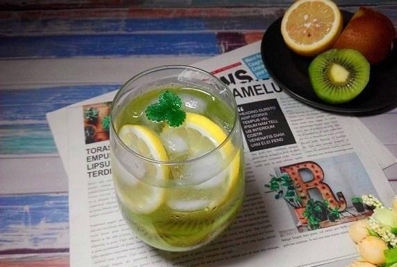鸭脖体育官网:自制夏日饮品:猕猴桃、柠檬、苏航水 清凉可口 超级简单!