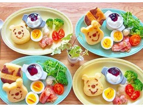 看看日本妈妈给家人做的早餐,网友:难怪日本人越来越长寿