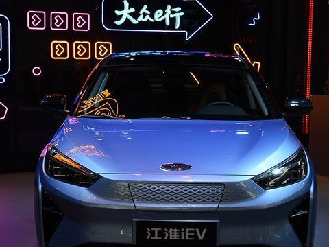 外观动感,内饰科技,江淮iC5起售不到15万,续航达530km。