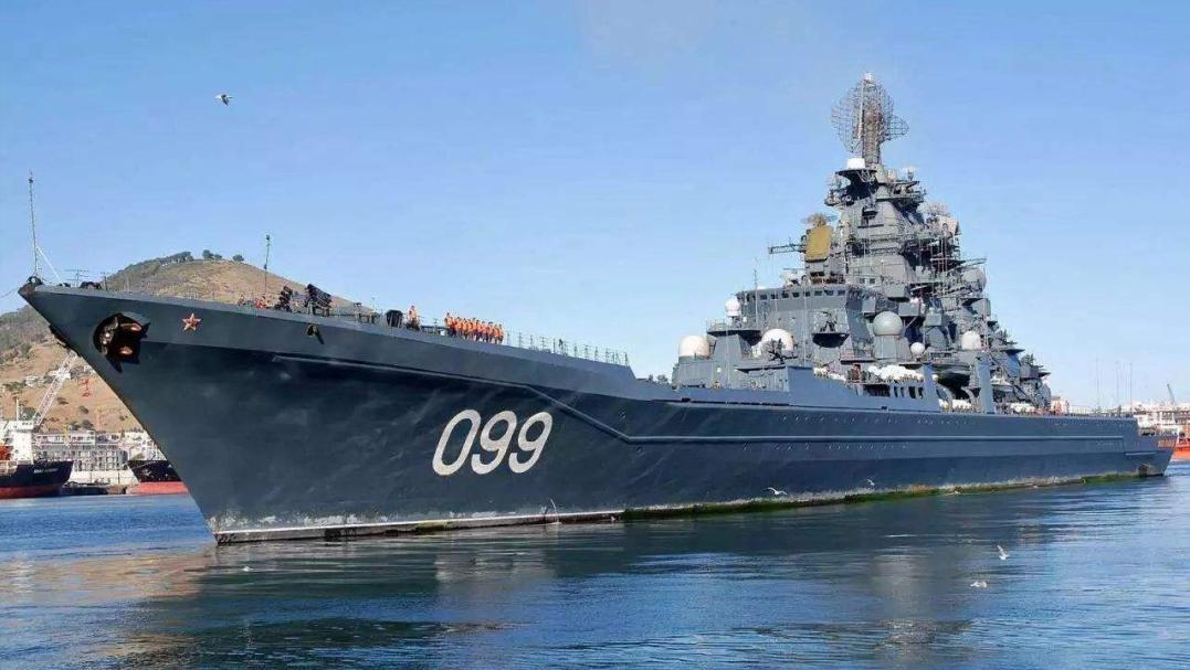 真正的海上霸主:全球唯一核动力巡洋舰装上超级导弹,专克航母!