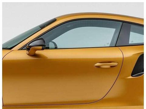 备受国人推崇的配色,土豪金配色的保时捷911跑车