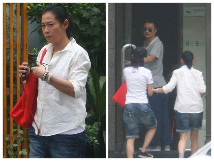 刘若英和离异老公素颜近照,朴素臃肿成贵妇,和陈升如父女般疼爱