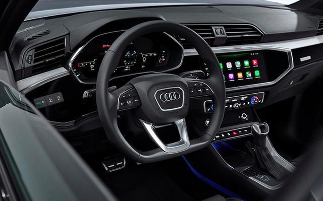 个性化十足的奥迪Q3轿跑搭载2.0T发动机/四驱系统,5月29日上市