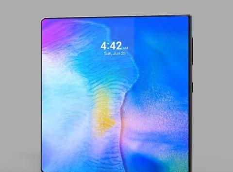 华为概念新机曝光,折叠柔性屏幕+自研麒麟芯,应对三星继续发力