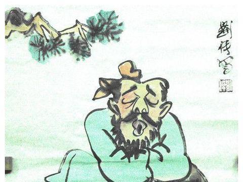 """""""酒鬼""""刘伶,被妻子推进酒缸,三天后将一缸酒喝完才爬出来!"""