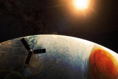 NASA更新朱诺号探测器拍摄的木星图像,这颗行星越来越让人着迷