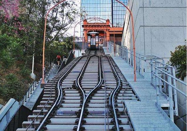 美国有条火车线路,全长仅有99米,却是上百部电影的取景地