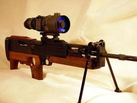 wa2000狙击步枪:能在千米之外打中硬币,价值能买一套房