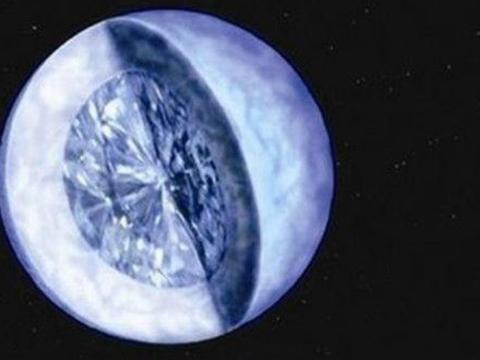 美国男子发现银河系最大钻石,直径达4000公里,已申请所有权