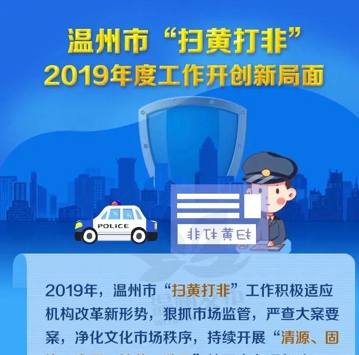 """2019年查办149起案件!温州""""扫黄打非""""五大战役布局2020新篇章"""
