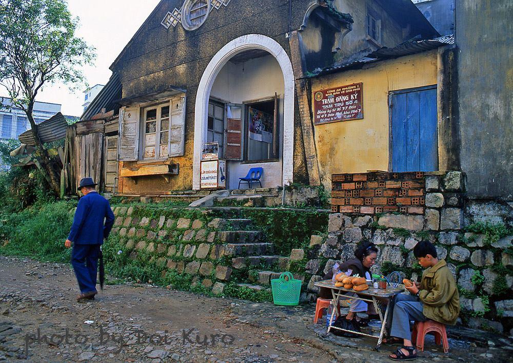 老照片 1996年越南南方旅游城市大叻 别有一番风味