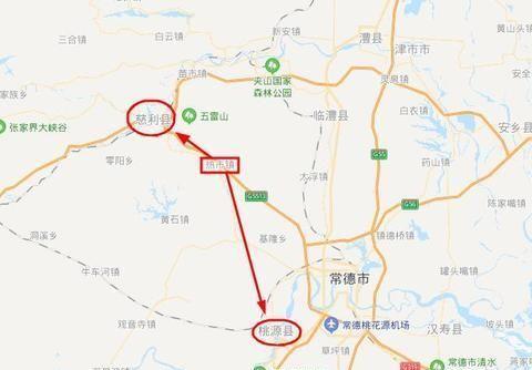湖南桃源县一个镇,距离慈利县城更近,拥有高速公路互通