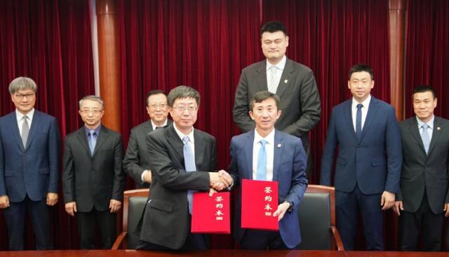 姚明完成重磅签约!中国篮协与校园正式合作 未来让人期待