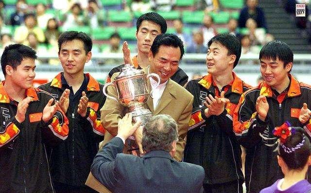 95年世乒赛,国乒五虎对战老瓦,当年马文革水平如何?