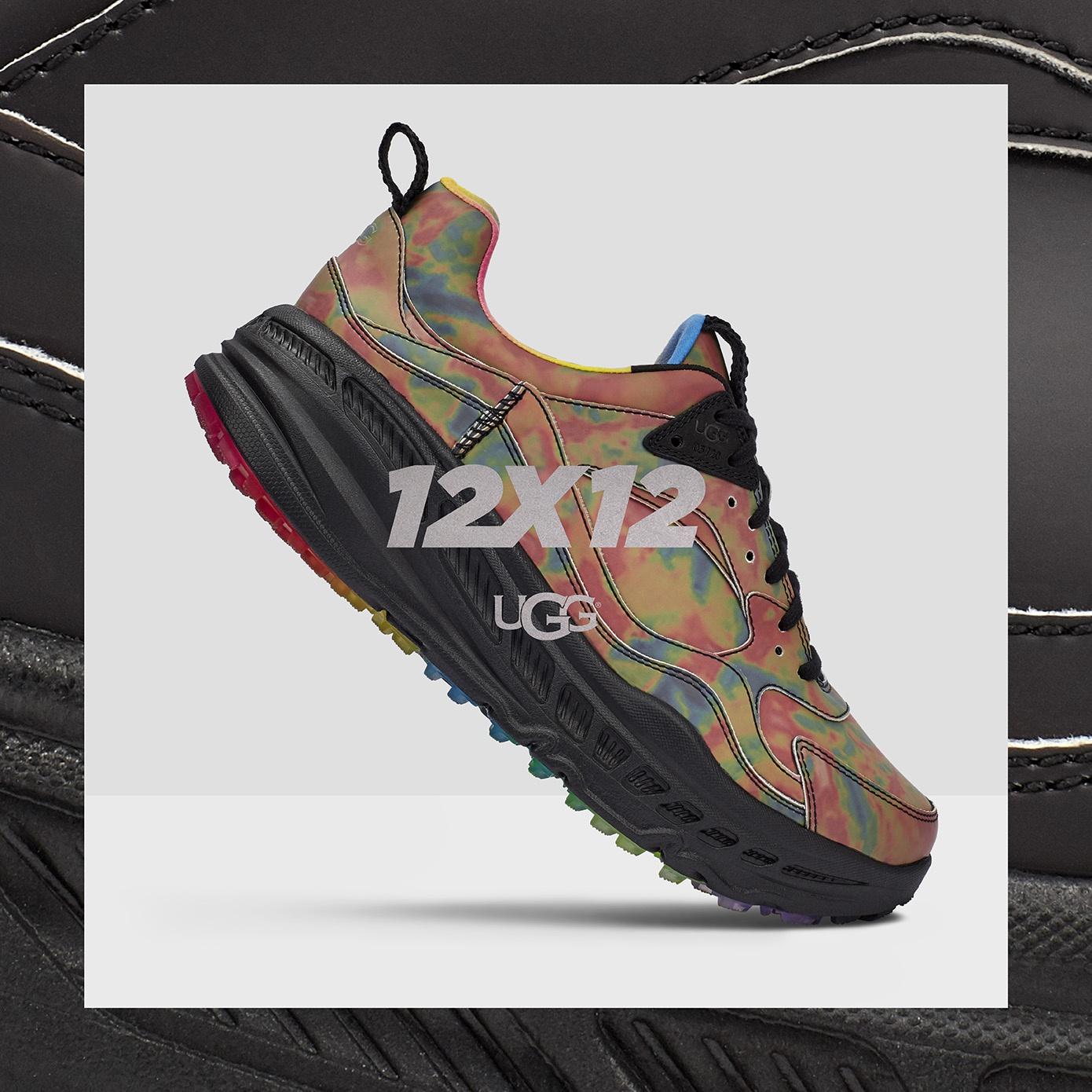 "UGG®12x12限量系列CA805 x 热感运动鞋正式发售——颠覆性引入硅谷创新科技,为温度而""改变"""