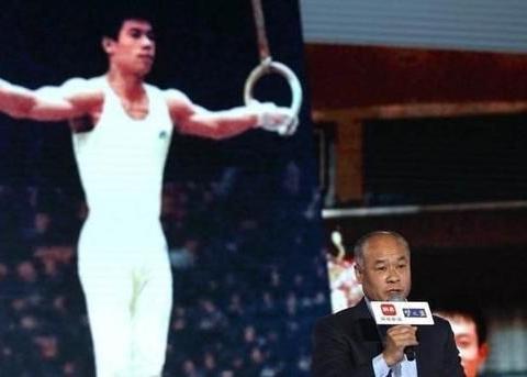泪目!央视重温李宁创奥运纪录,56岁已满头白发