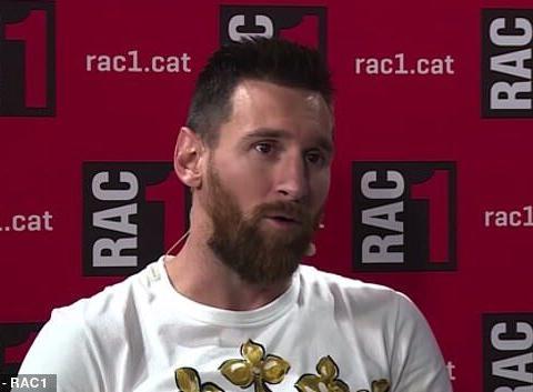 梅西:偷税案曾让我考虑离开西班牙,从未收到其他队报价!