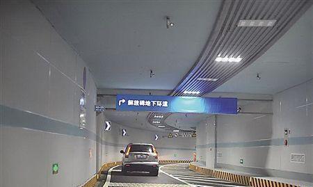 重庆这个藏在市中心的地下环道,全长2.8km,很多重庆人都被绕晕