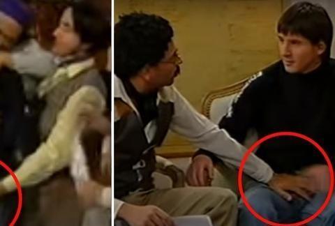 """梅西也曾遭""""咸猪手""""!18岁参加节目视频曝光,画面有些辣眼睛"""