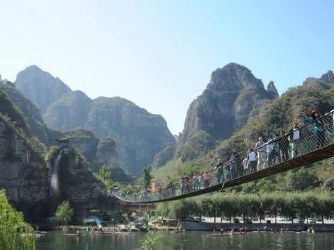 北京门头沟旅游区,古刹名扬天下,乾隆皇帝常来此拜佛赏景