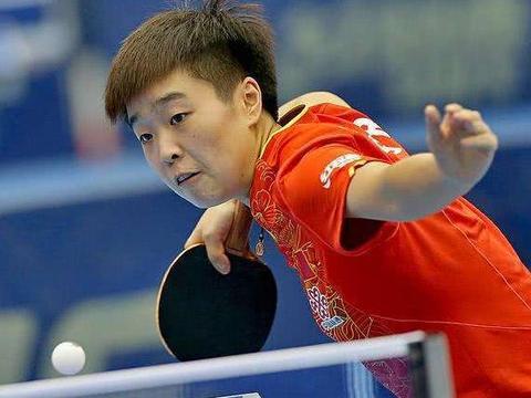 国乒陪练选手发威!模仿伊藤美诚打法创佳绩,夺得队内比赛第二名
