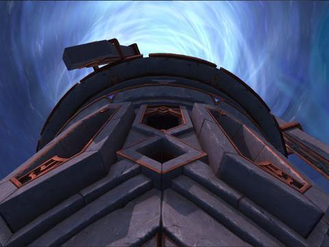 魔兽世界9.0:新主城奥利波斯高清预览,仿佛又回到70级的沙塔斯