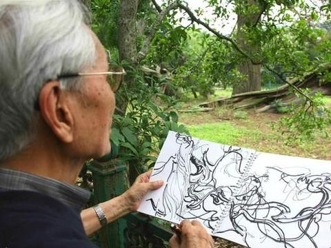 吴冠中画了两只燕子,彩墨版卖了5405万,改成油画却卖了1.1亿?