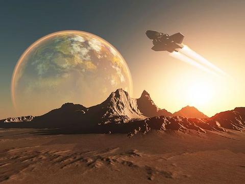 同样的飞船,为何返回时温度很高,从地球离开的时候却没有?