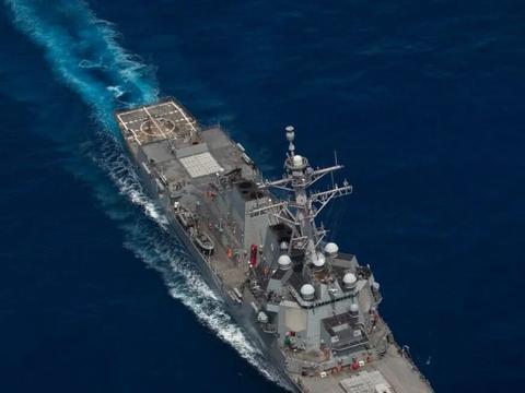 又一艘美舰闯入东海,水兵却在甲板公开3个数字,决不能轻易让步