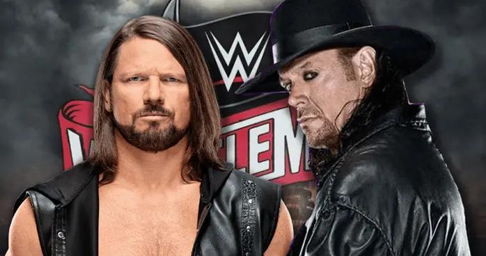 WWE现象级大师AJ要求和送葬者再打一场比赛