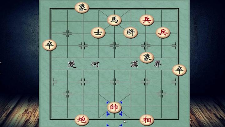 象棋:仅有一炮双兵,一看棋面必败无疑,幸亏来了一位民间大师!