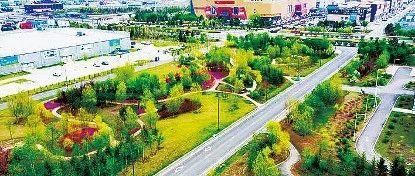 净月高新区打造步行15分钟城市公园生活圈