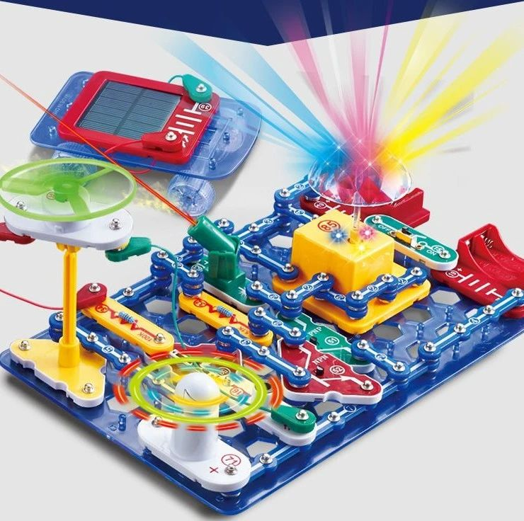 六一大促 | 风靡全球的电子积木,6千种电路玩法,让娃远离手机爱上发明