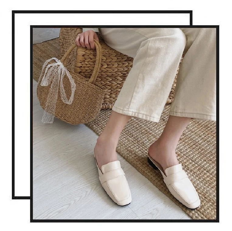 一双时髦舒适的穆勒鞋,搞定你夏天衣橱里的所有穿搭!只要200多块
