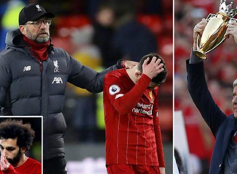 温格:利物浦无缘不败夺冠后,很多人祝贺我!赛季总会充满意外!