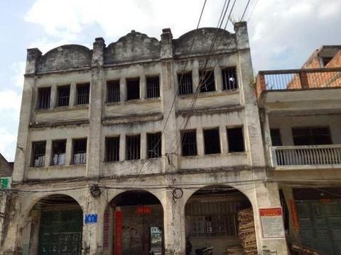 广西隆安雁江古镇,看这个小上海里的传奇