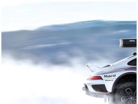 保时捷911跑车改装的雪地越野车