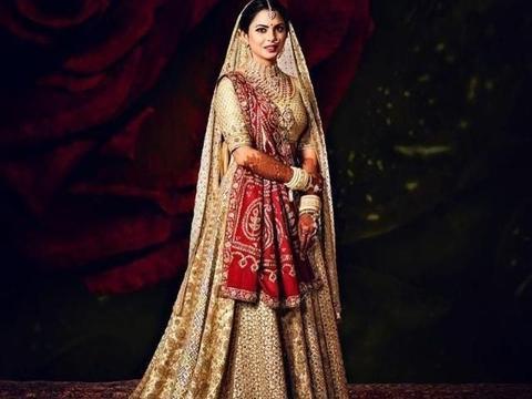 亚洲首富嫁女,6亿婚礼,尽现印度最炫民族风